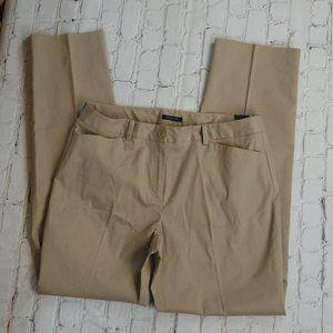 NWT Jones New York Stretch Straight Leg Pants 20